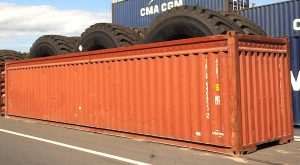 container maritime de 40' open top