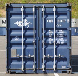 marquage d'un container