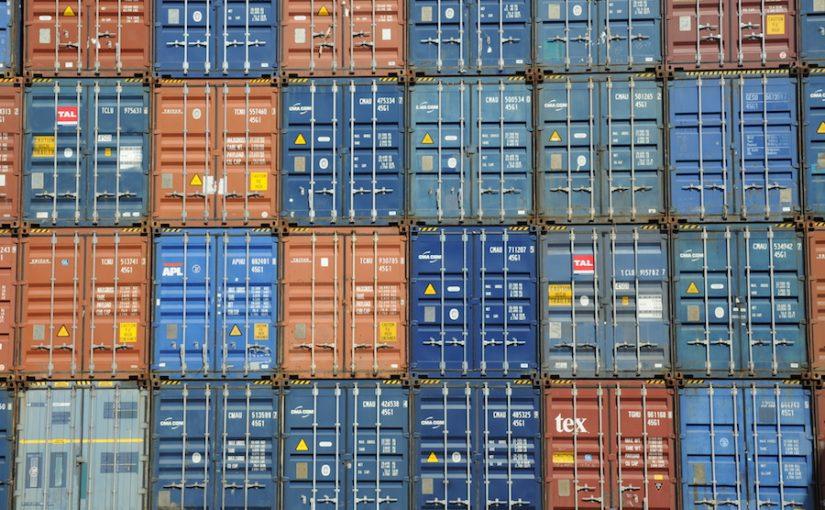Stockage de containers sur un terminal portuaire